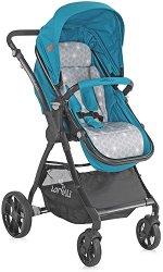 Бебешка количка 2 в 1 - Starlight Set 2019 - С 4 колела -