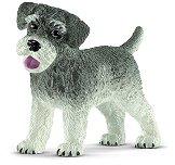 """Куче - Мини шнауцер - Фигура от серията """"Животните от фермата"""" - играчка"""