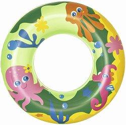 Детски надуваем пояс - Морски приключения - С външен диаметър 51 cm -