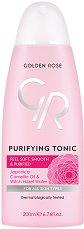 Golden Rose Purifying Tonic - Почистващ тоник за лице за всеки тип кожа -