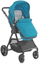 Комбинирана бебешка количка - Starlight - С 4 колела -