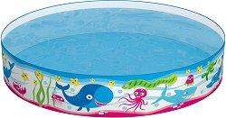 Детски басейн - Морски обитатели - С размери ∅ 122 х 25 или ∅ 152х 25 cm - играчка