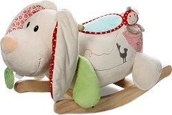Детска дървена люлка - Заейчето Tilli - играчка