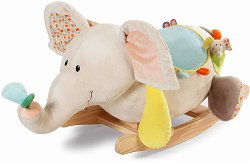 Детска дървена люлка - Слончето Dundi - играчка