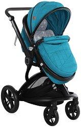 Бебешка количка 2 в 1 - Lumina Set 2019 - С 4 колела -