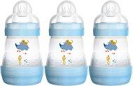 Бебешки шишета за хранене - Easy Start Anti-Colic 160 ml - Комплект от 3 броя със силиконов биберон размер 1 за бебета от 0+ месеца -