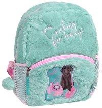 """Плюшена раница за детска градина - Кученце - От серията """"Paso: Studio Pets"""" - продукт"""