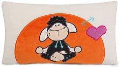 """Плюшена възглавница - Овчицата Jolly Kasi - От серията """"NICI - Jolly Mah"""" - играчка"""