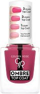 Golden Rose Ombre Top Coat - Топ лак за нокти с омбре ефект -