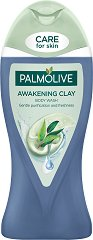 Palmolive Awakening Clay Body Wash - Душ гел за тяло с глина и евкалипт - маска
