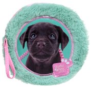 """Плюшен несесер с 2 тефтерчета - Куче - Комплект от серията """"Paso: Studio Pets"""""""