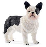 """Куче - Френски булдог - Фигура от серията """"Животните от фермата"""" -"""