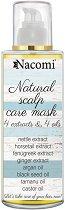 Nacomi Natural Scalp Care Mask - Маска за коса против сух, раздразнен скалп и косопад - червило