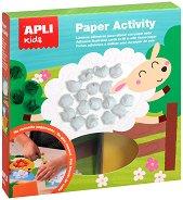 Декорирай с хартиени топчета - Домашни животни - Творчески комплект -