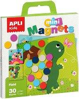 По ливадата - Детски комплект с магнити -