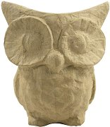 Фигура от папиемаше - Бухал - Предмет за декориране