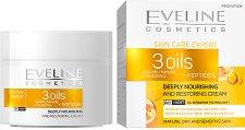 Eveline Skin Care Expert 3 Oils Day & Night Cream - гел