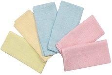 Муселинови кърпи - Комплект от 6 броя - продукт