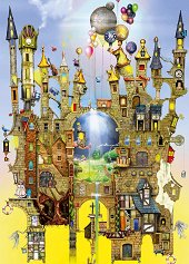 """Замък във въздуха - Колин Томпсън (Colin Thompson) : От колекцията """"Premium Quality"""" -"""