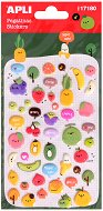 Мини стикери - Малки плодчета и надписи