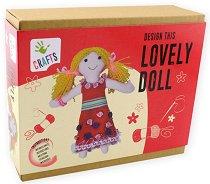 """Направи сама - Парцалена кукла - Творчески комплект от серията """"Craft"""" - творчески комплект"""