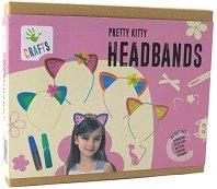 """Декорирай самa - Диадеми с котешки уши - Творчески комплект от серията """"Crafts"""" -"""