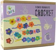 """Изплети сама - Бижута с цветя - Творчески комплект от серията """"Crafts"""" -"""