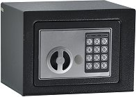 Сейф за външен монтаж с електронно заключване и ключ