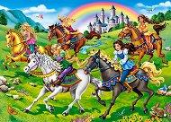 Принцеси на конна езда - пъзел