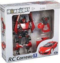 """Peugeot RC Carreau - Играчка със звукови и светлинни ефекти от серията """"RoadBot"""" -"""