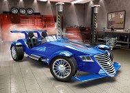 Състезателен авромобил - пъзел
