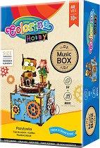 """Направи си сам музикална кутия - Робот - Творчески комплект от серията """"Hobby"""" - творчески комплект"""
