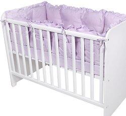 Обиколник - Uni - Комплект от 4 части за легло с матрак 60 x 120 cm -