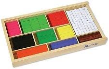 Дървени блокчета за смятане -