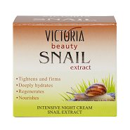 Victoria Beauty Snail Extract Intensive Night Cream - Интензивен нощен крем с екстракт от охлюви -