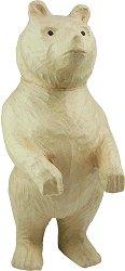 Фигура от папиемаше - Мечок - Предмет за декориране с височина 51 cm