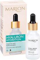 Marion Hyaluron Hydration Serum - Хидратиращ серум за лице и деколте с хиалуронова киселина - продукт