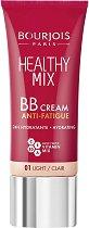 Bourjois Healthy Mix BB Cream Anti-Fatigue - BB крем за лице с анти-умора ефект - сенки