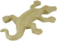 Фигура от папиемаше - Саламандър - Предмет за декориране