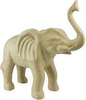 Фигура от папиемаше - Слон - Предмет за декориране