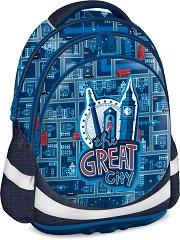 Ученическа раница - The Great City - детски аксесоар
