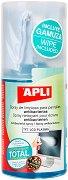 Антибактериален спрей за почистване на екрани - Флакон от 200 ml с почистваща кърпа