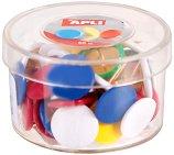 Цветни кабърчета - Комплект от 50 броя