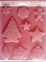 3D форма - Коледа - Размери 21 x 29.7 cm