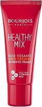 Bourjois Healthy Mix Primer - Основа за грим с лека покривност и анти-умора ефект - балсам