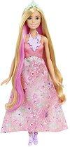 """Барби - Прическа 3 в 1 - Комплект с аксесоари от серията """"Barbie: Dreamtopia"""" - продукт"""