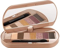 Bourjois Eye Catching Nude Palette - Палитра с 8 цвята сенки за очи - сенки