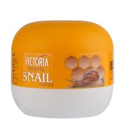 Victoria Beauty Snail Extract Regenerating Cream-Vaseline For Dry Hands And Feet - Регенериращ крем-вазелин за напукани ръце и крака с екстракт от охлюви - гел