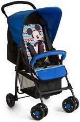 Лятна бебешка количка - Sport: Mickey Cool Vibes - С 4 колела -