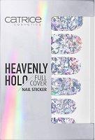 Catrice Heavenly Holo Full Cover Nail Sticker - Самозалепващи се стикери за нокти в опаковка от 12 броя -